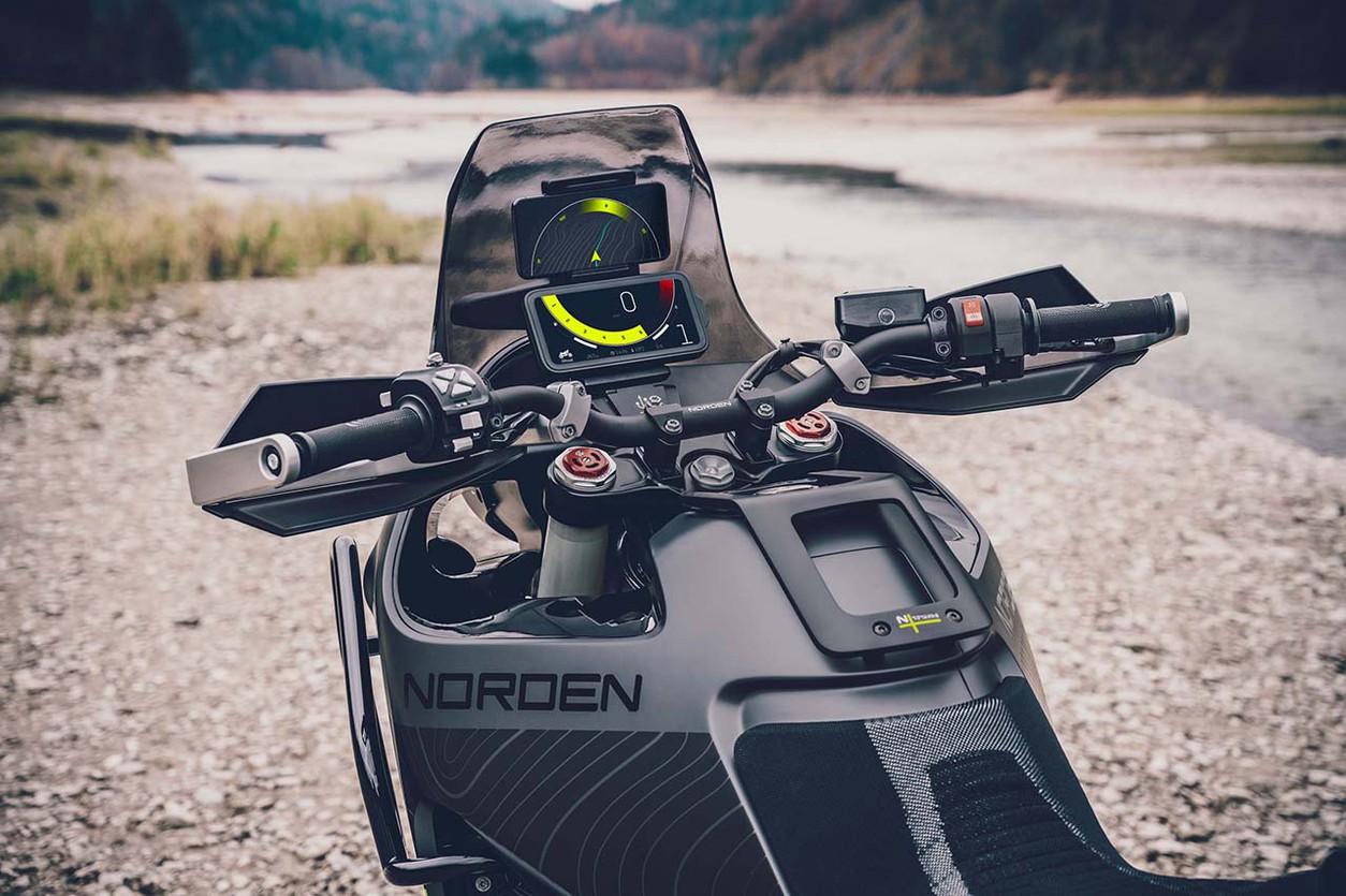 Он нужен каждому: Husqvarna заинтриговала новым турэндуро Norden 901