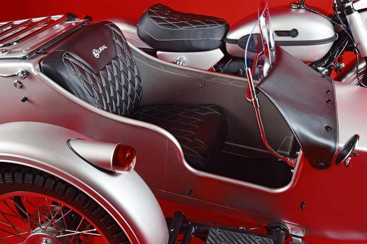 Шпионские страсти: представлен необычный колясочник «Урал»