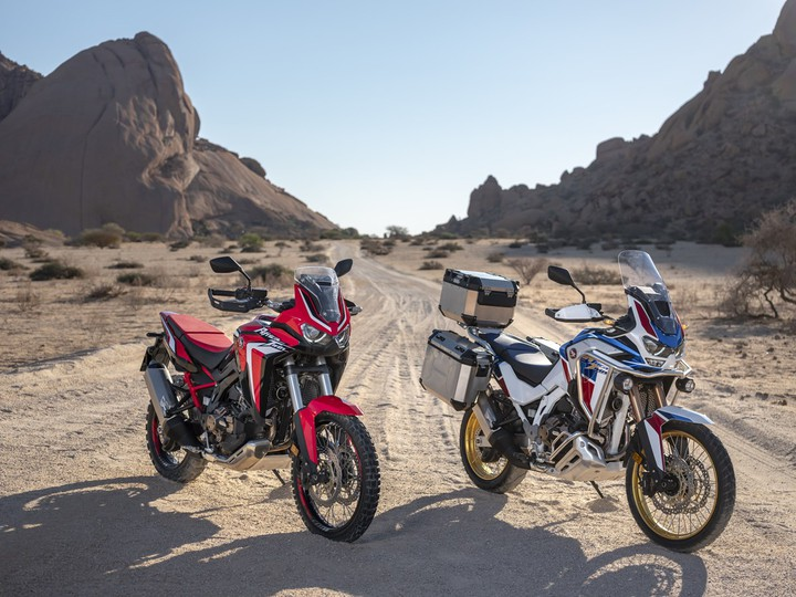 Honda объявила рублевые цены на турэндуро CRF1100L Africa Twin
