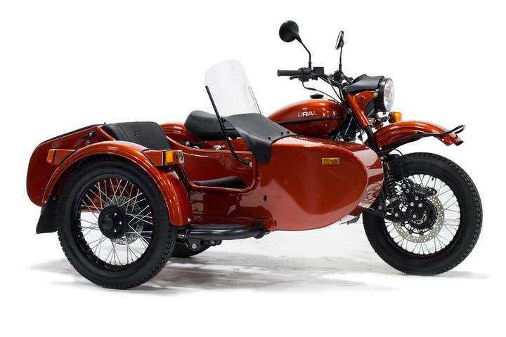 Объявлены рублевые цены на мотоциклы «Урал» 2020 года