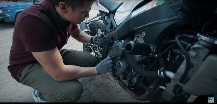 Тонкости при осмотре мотоцикла перед покупкой. (Видео)