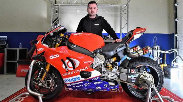 Майкл Данлоп поменял BMW на Ducati