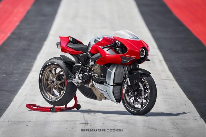 Срочно на конвейер: самый красивый Ducati из виртуального пространства