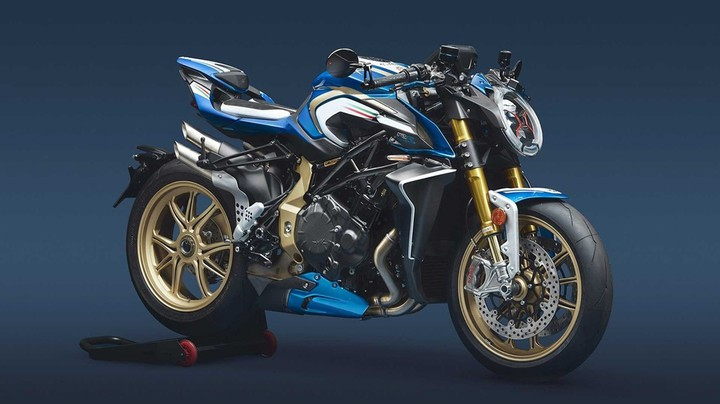 MV Agusta представила публике мотоцикл сверхограниченной серии Brutale 1000 RR ML