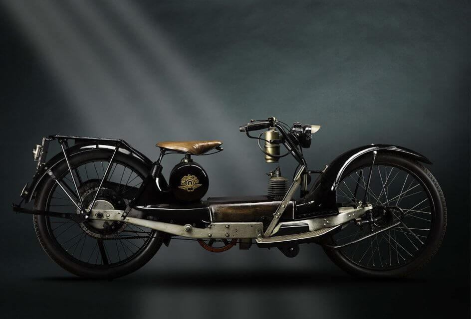 Необычные ретро-мотоциклы