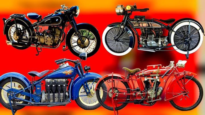 История создания мотоциклов