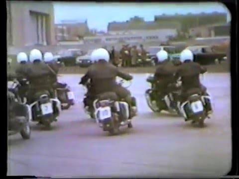 Подготовка мотоциклистов спец. батальона в СССР
