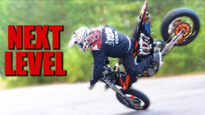 Крутой стант от Stunt Freaks Team