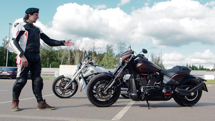 Harley-Davidson FXDR VS V-ROD. Кто из них БАТЯ?