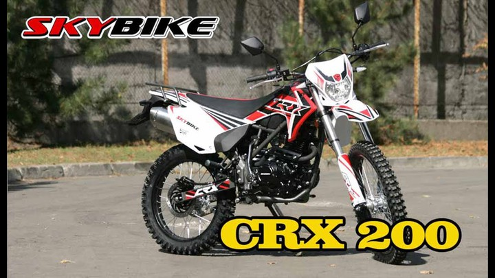 В продаже появился новый китайский эндуро - SKYBIKE CRX 200