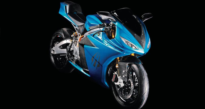 LS-218 - самый быстрый электромотоцикл