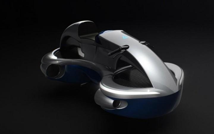 Speeder - летающий мотоцикл из Японии