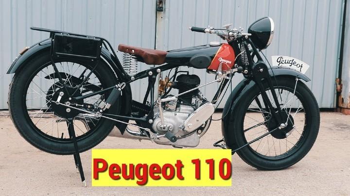 Реставрация мотоцикла Peugeot
