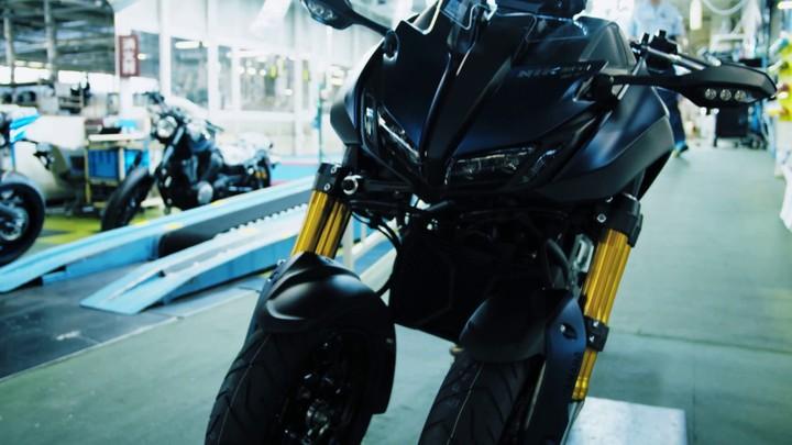 Как собирают мотоциклы Yamaha
