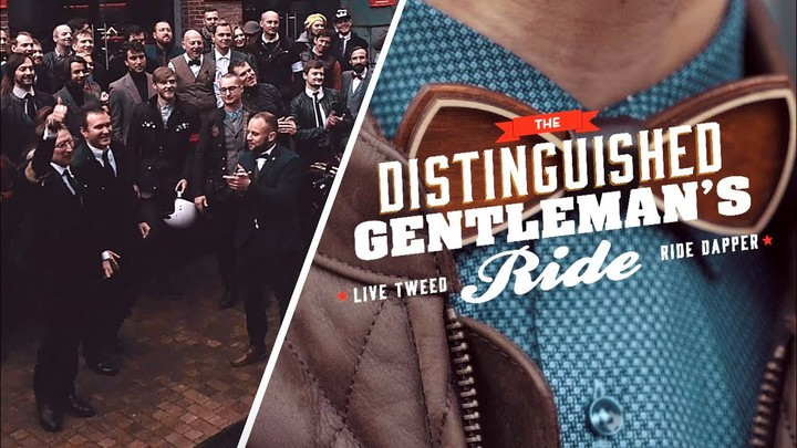 The Distinguished Gentleman's Ride 2019 Moscow Ride!