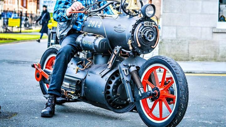 Мотоциклы на пару