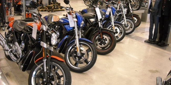Рекорд продаж мотоциклов в Украине