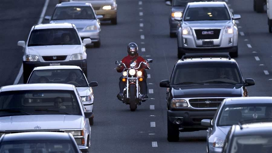 AMA: Study Finds Lane-Splitting Increases Rider Safety