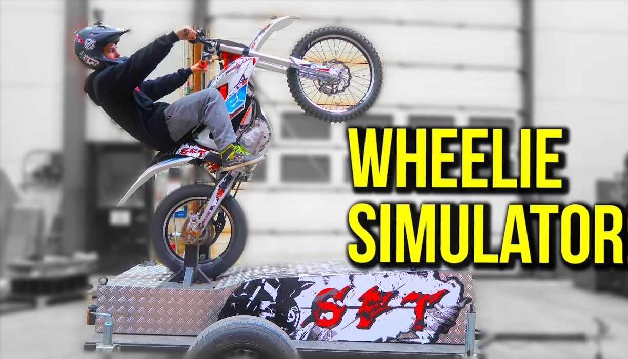 WHEELIE SIMULATOR!